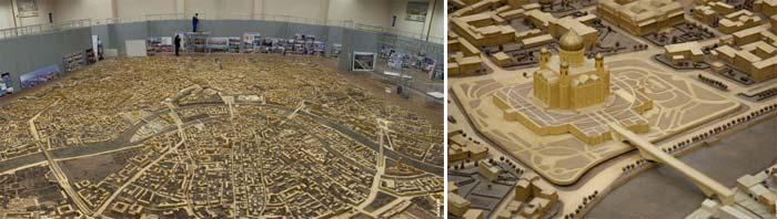 модели городов