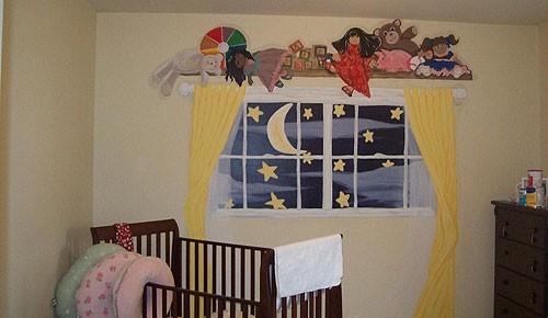 Нарисованное фальш-окно