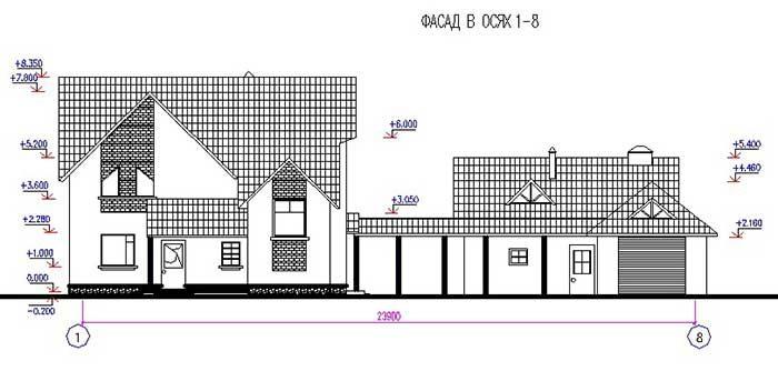 Proekt_usadby_dom+garage+banja