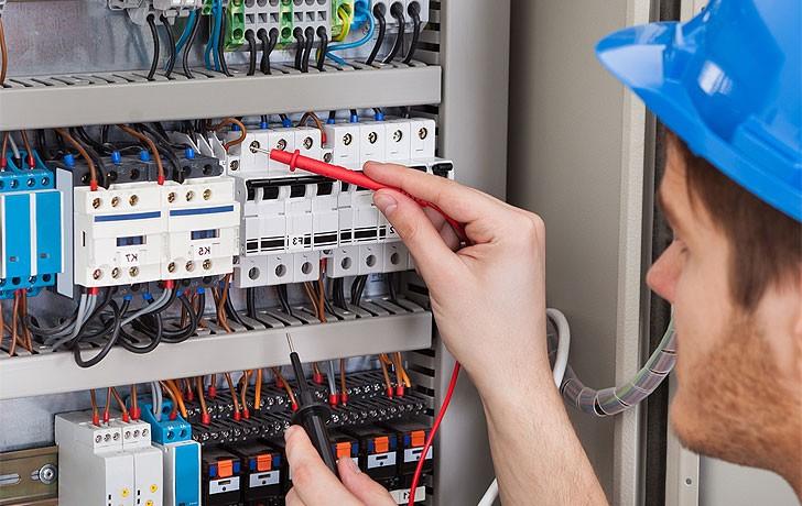 Замена электрики от застройщика