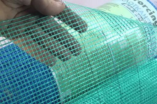 Штукатурная сетка и её применение