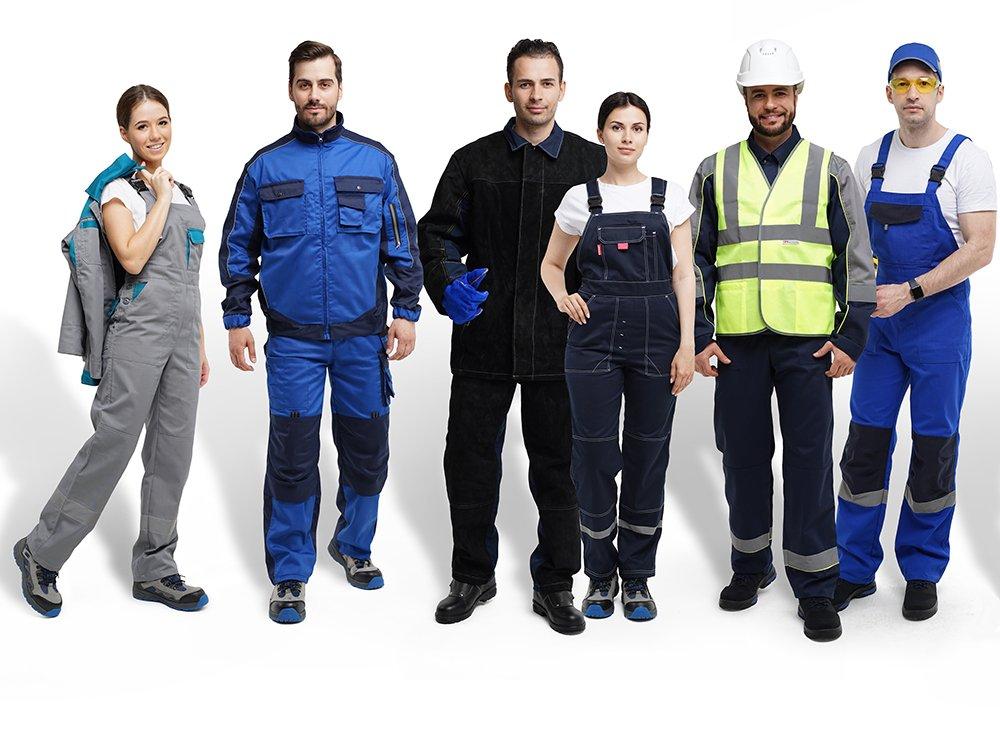 Спецодежда для рабочих профессий и коммунальных служб